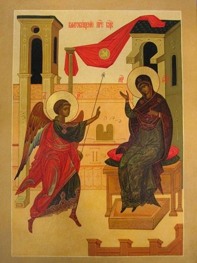 """Иконе Божией Матери """"Благовещение"""""""